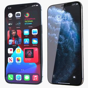 iphone 11 12 pro 3D
