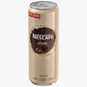 3D nescafe coffee model