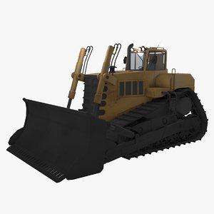 3D crawler dozer model