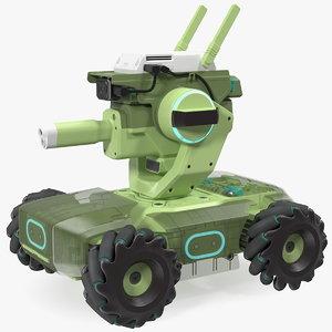 3D model mini tank drone