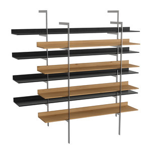 3D model aliante bookshelf