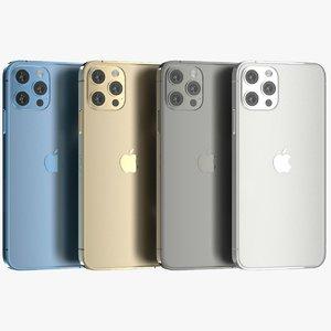 3D iphone 12 pro color glass