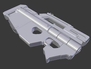 3D sci-fi 10mm pdw