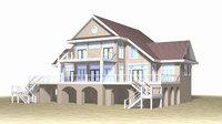 Summer Beach House Exterior 02