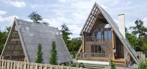 3D house wooden