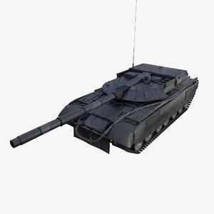 russian tank object 640 3D