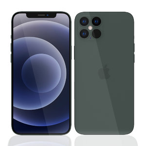 apple iphone 12 pro 3D model