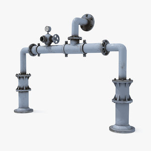 water pipe 3D