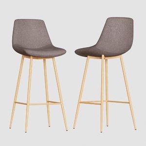modern bar stool seat chair 3D model