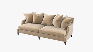 baker original sofa ba6959s 3D model