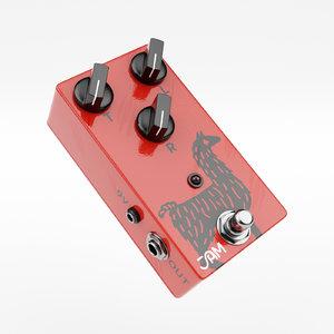 3D jam pedals delay model