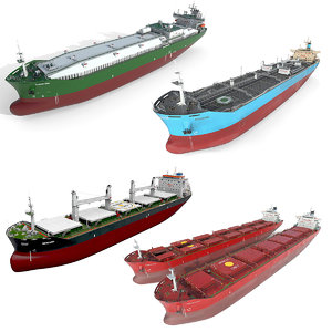 3D tanker ships