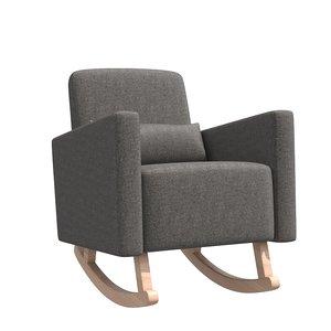 karla dubois milo rocking chair 3D model