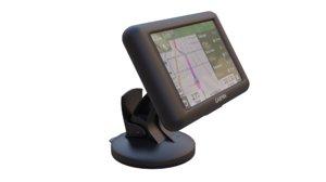 gps navigation 3D model