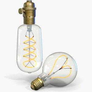 light bulbs 3D model
