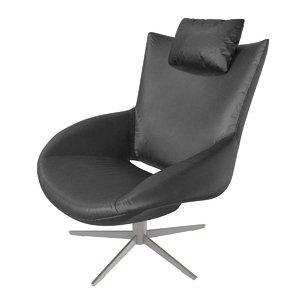 3D chair ilusio black