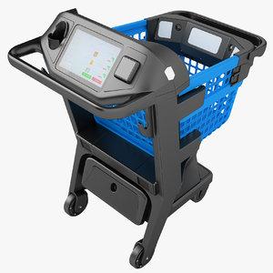 3D shopping smart cart