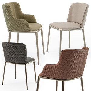 chair magda 3D model