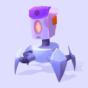 3D model robot games