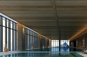 hotel swimming pool model