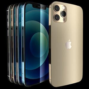 iphone 12 pro 3D model