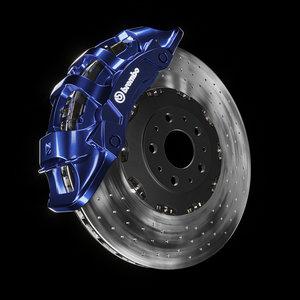 brembos brakes 3D model