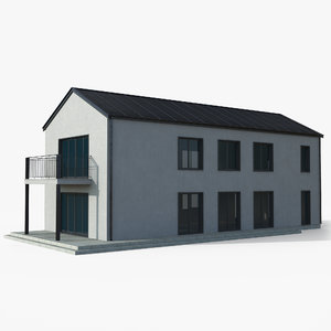 3D building pbr -