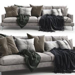 3D verzelloni sofa larsen