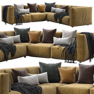 3D model prostoria sofa match