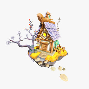 3D witchhouse zbrush