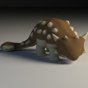 ankylosaurus rig model