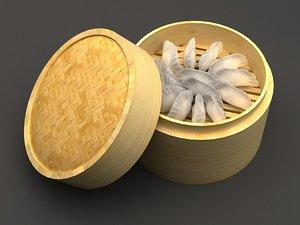3D dumplings kind steamed drawer