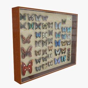 butterflies 3d max
