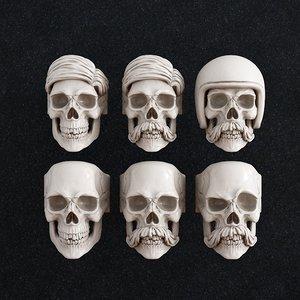 ring skull model