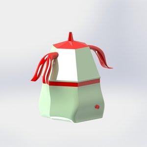 moka design 3D model
