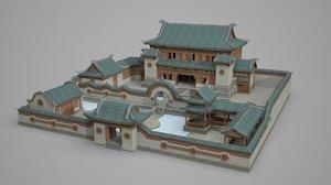 ancient architecture super 3D