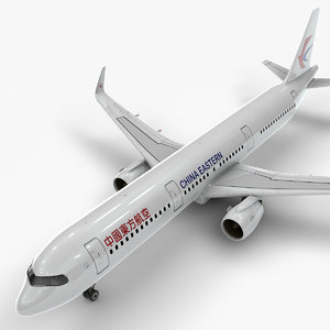 3D a321 neo china eastern airlines
