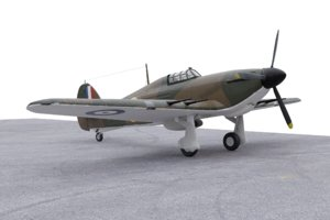 hawker hurricane model