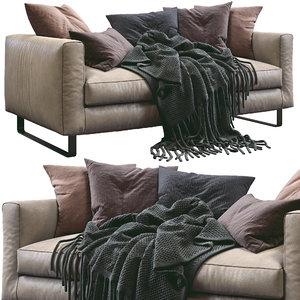prostoria sofa elegance 3D model