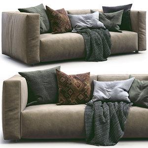 3D prostoria sofa match model