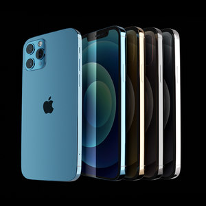 3D model iphone 12 pro blender
