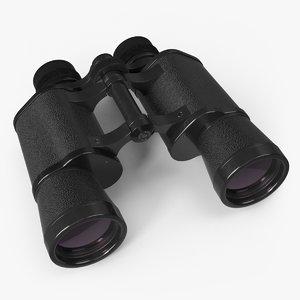 3D model 10x40 binoculars