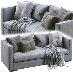 meridiani sofa belmon 3D