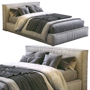 3D model flexteam bed slim