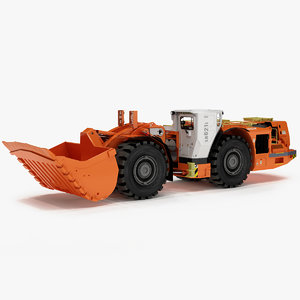 sandvik lh621i underground loader 3D model