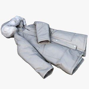 coat jacket 3D model