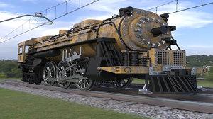 train vehicle 3D model