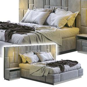 3D visionnaire bed beloved model