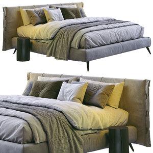 3D cuff bed bonaldo