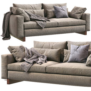 westelm sofa harmony 3D model